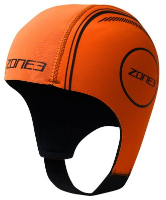 Neoprene Swim Cap Orange