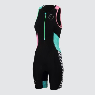 Womens Activate Plus Trisuit Zebra